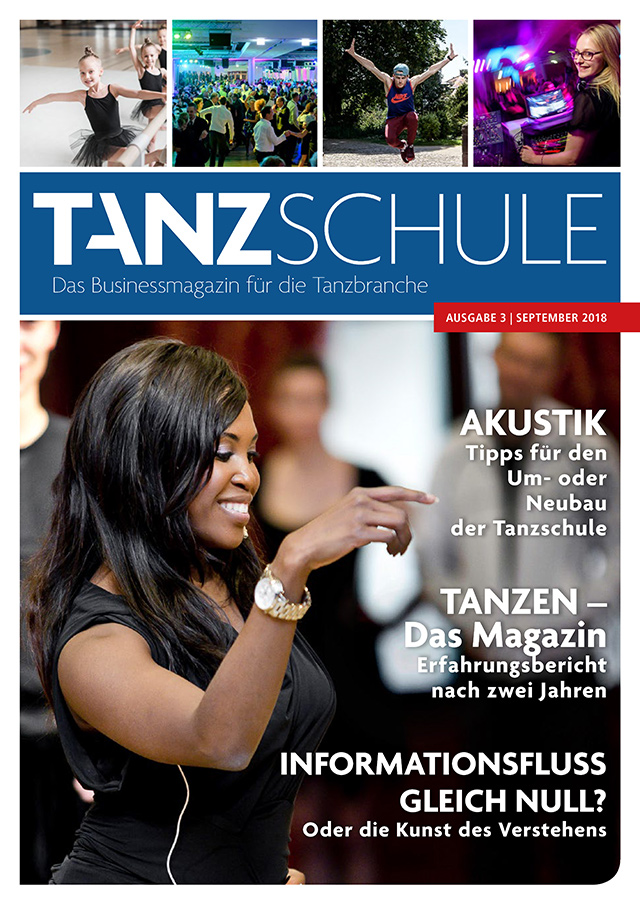 Tanzschule Das Businessmagazin Ausgabe 3