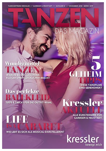 Tanzen Das Magazin Tanzcentrum Kressler Garbsen&neustadt Ausgabe 8