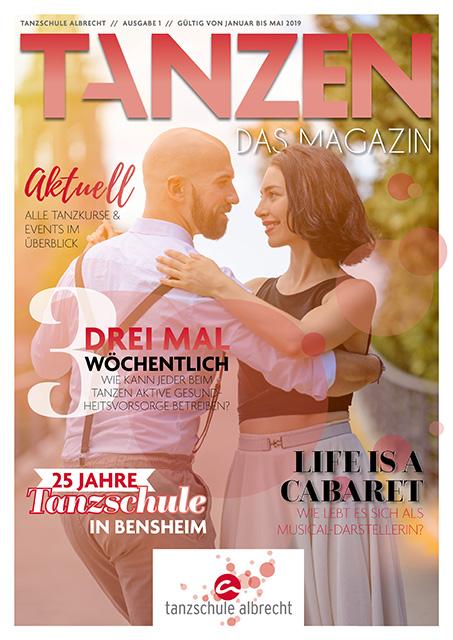 Tanzen Das Magazin Tanzschule Albrecht Bensheim Ausgabe 1