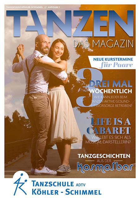 Tanzen Das Magazin Tanzschule Koehler Chemnitz Ausgabe 1