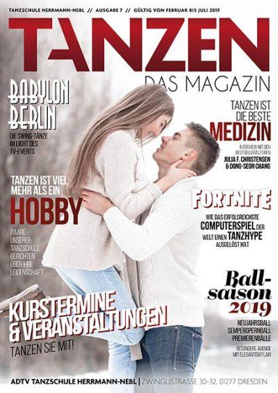 Tanzen Das Magazin Tanzschuleherrmannnebl Dresden Ausgabe 7