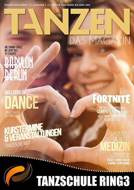 Tanzen Das Magazin Tanzschule Ring3 Hamburg Ausgabe 7