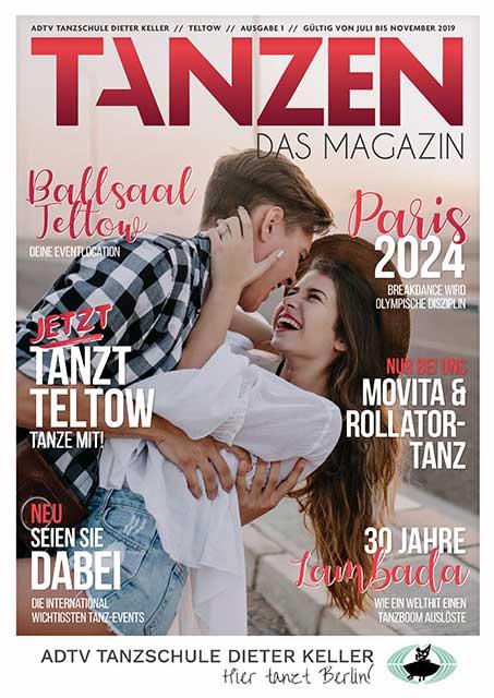 Tanzen Das Magazin Tanzschule Dieter Keller Teltow Ausgabe 1