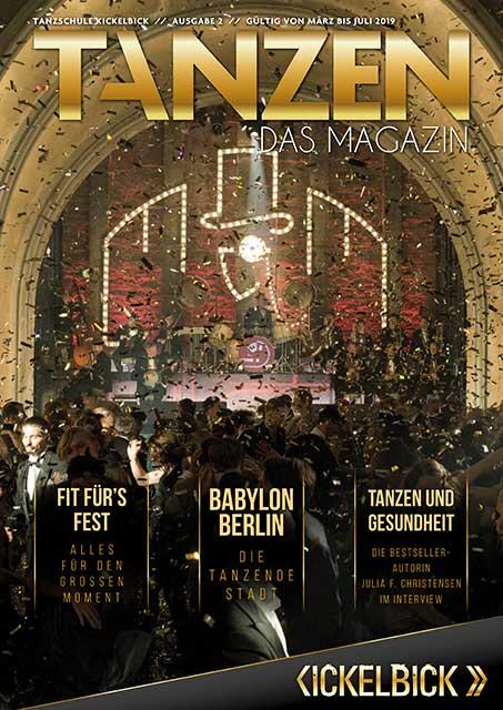 Tanzen Das Magazin Tanzschule Kickelbick Ausgabe 02 01