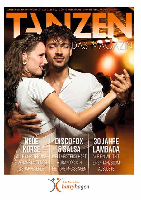 Tanzen Das Magazin Tanzschule Harry Hagen Ausgabe 1