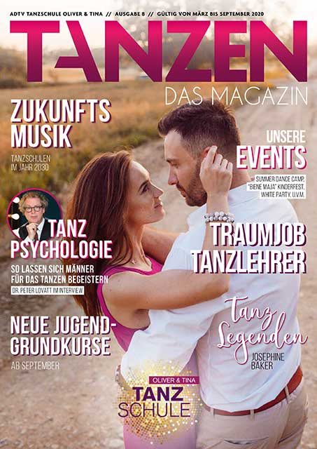 Tanzen Das Magazin Tanzschule Oliver Und Tina Ausgabe 8